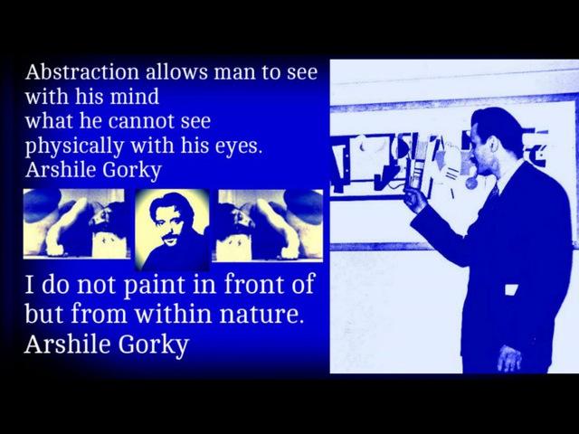 Arshile Gorky Solitary Man