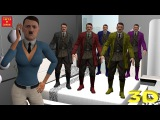 5 Little HITLER Jumping On The Bed | RAP | Nursery Rhymes for Children | 3D Animation
