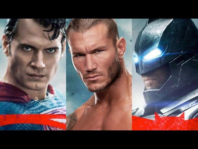 Randy Orton v Batman v Superman Supercut - All 3 trailers