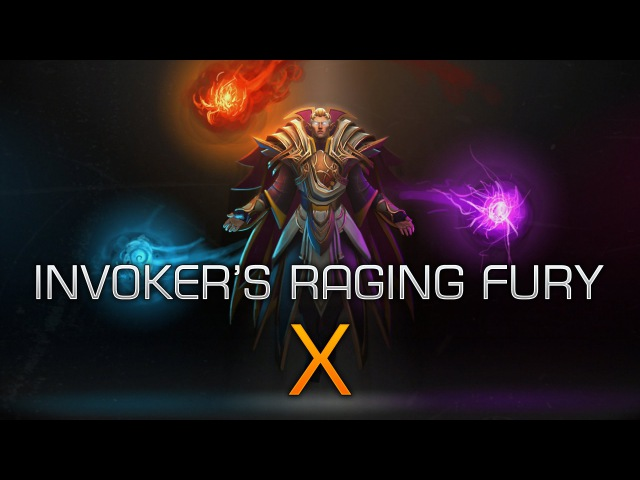Dota 2 Invoker's Raging Fury 10