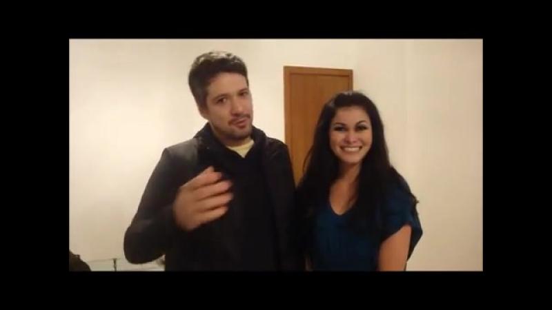 Tarik e Samya Farhan - Un mensaje de Brasil para las chicas de Lima - Perú