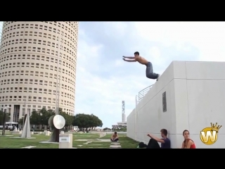 Сумасшедшие трюки людей. Потрясающее видео!