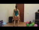 Sexy Booty Dance in a Leotard ¦ Hot Girl Body Dance