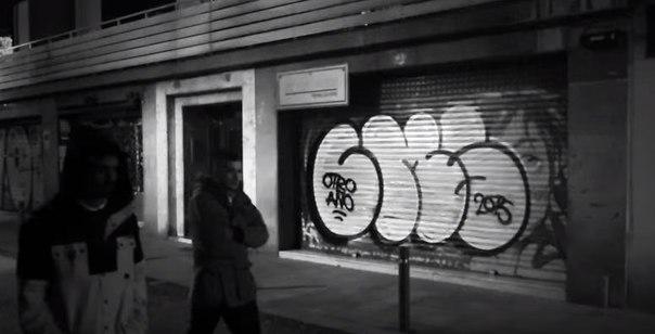 barcelona graffiti bombing