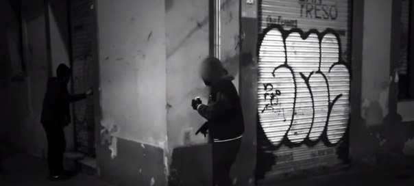 barcelona graffiti vandal