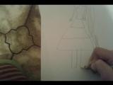 как нарисовать Твайлайт спаркл девушка Эквестии