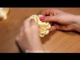 Цветок Ромашка - Канзаши мастер класс