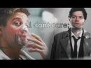 I don't care   Castiel Clint Barton [crossover]