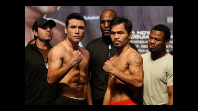 Manny Pacquiao vs Oscar De La Hoya Full Fight (Гендлин)