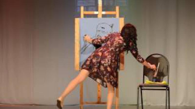 Творческий конкурс Мисс Сибай -2016. Нугаманова Гульфия
