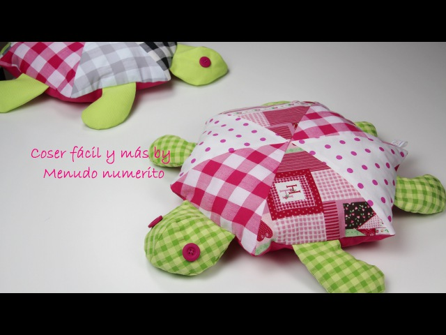 Cómo hacer una tortuga de trapo (patrones gratis)