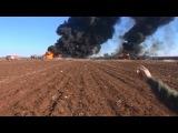 ВКС России уничтожила конвой бензовозов ИГИЛ