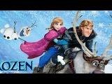 NEW Игры для детей—Disney Принцесса Эльза история холодного сердца—мультик для девочек