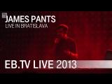 James Pants live in Bratislava (2013)