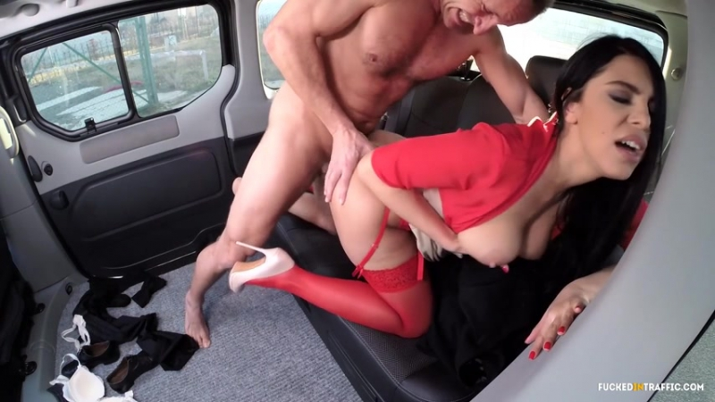 Kira Queen Celebrating success with a car sex