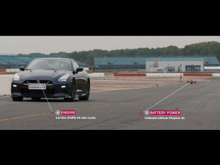 Дрон Nissan VS New Nissan GTR nismo [Гиперкары (концепткары,суперкары)]