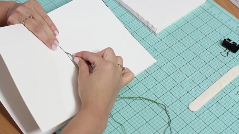 Как самостоятельно сделать записную книжку