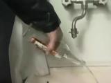 Вылил водяру