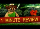 Gamecube - Adventure Island Remake (1 Minute Review)