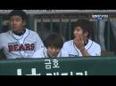 Оригинальная бейсбольная подача от южно корейской гимнастки