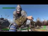 Fun in Fallout 4 Gorilla