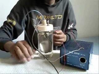 My homemade HHO generator--generateur HHO