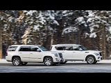 Cadillac Escalade и Infiniti QX80  Комментарий к тесту