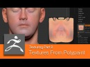 DART 153 Intro To ZBrush: Texturing Part 2 Texture Maps From Polypaint