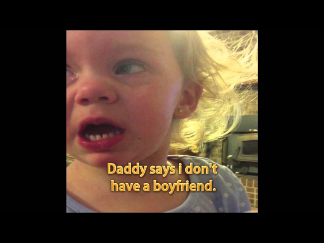 Little Girl Is Pretty Darn Sure She Has a Boyfriend
