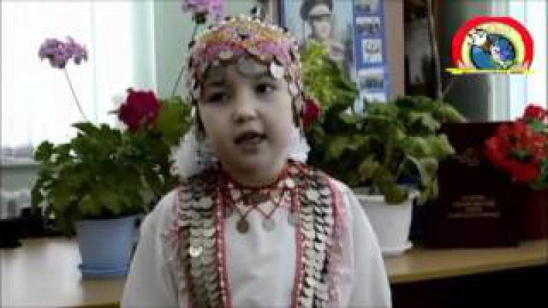 Эпĕ пĕчĕкçĕ чăваш Мидакова Полина Хĕрлĕ Чутай шкулĕ