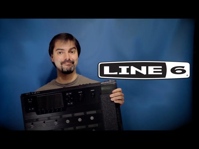 Обзор гитарного процессора Line 6 HELIX настоящий