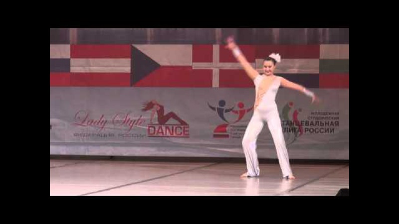 00088 БТО 2015. European Championship. Акробатический танец, юниоры, соло девушки, 1/4 финала