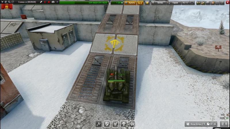паркур в танках онлайн с подругой №1