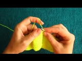 ВЯЗАНИЕ СПИЦАМИ!КРАСИВЫЕ ПИНЕТКИ!ЧАСТЬ №1. knitting.Топ вязание.Очень легко связать даже начинающим!