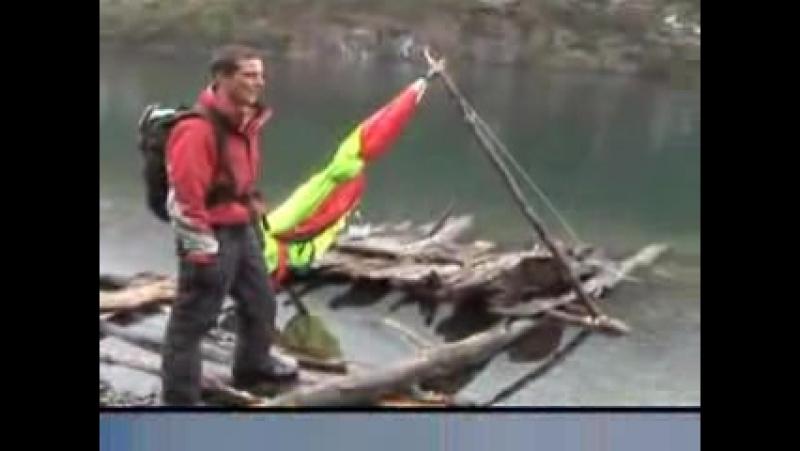 Выжить любой ценой/Man vs. Wild (2006 - 2012) Видео со съёмок (Патагония)