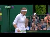 Martina Hingis - Sania Mirza vs Christina McHale - Jelena Ostapenko (2016 Wimbledon - 3rd Round)