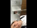 Рома в женском туалете