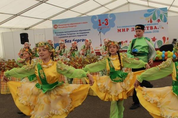 Азнакаевцы стали призерами фестиваля детского творчества «Без бергә»