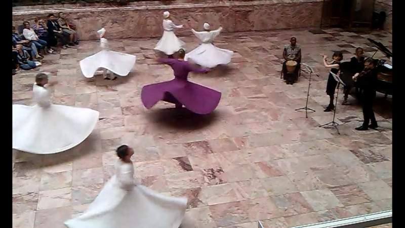 31 мая 2016, Мраморный зал Российский Этнографический музей проект Суфийские кружения под живую музыку