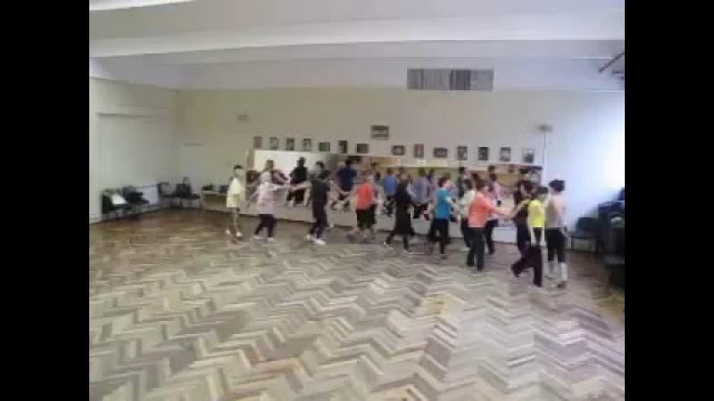 Кривой танец. Танцы для тех, кому за 50, 60 и 70. Киев. Оболонь.