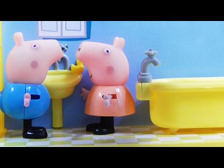 Peppa Pig, videos with toys. Свинка Пеппа, играет с друзьями: Овечка Сьюзи & Пони Педро.