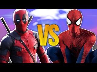 СУПЕР РЭП БИТВА: Человек-Паук VS Дэдпул ( SPIDERMAN Против DEADPOOL)