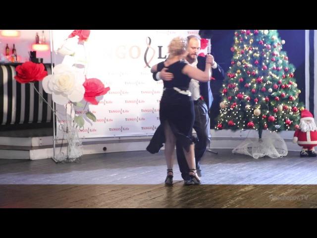 Лиферов Дмитрий и Писарева Алена, Первый городской Танго-Бал 2015», TangoLife, Пермь, 2015