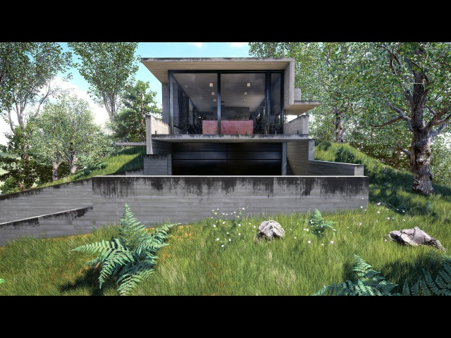 Unreal Engine Exterior Day-Time Architectural Visualization