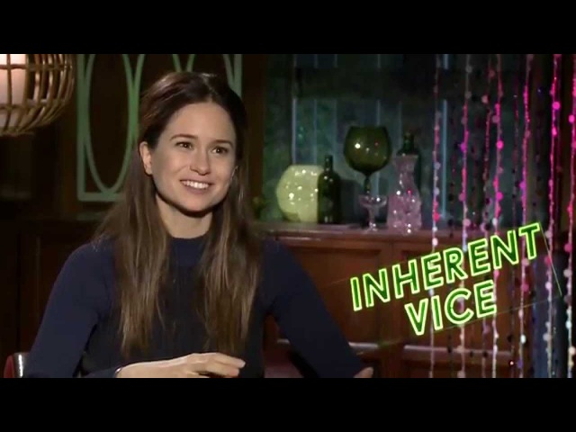 Katherine Waterson says to let go of expectations and Inherent Vice will reward you