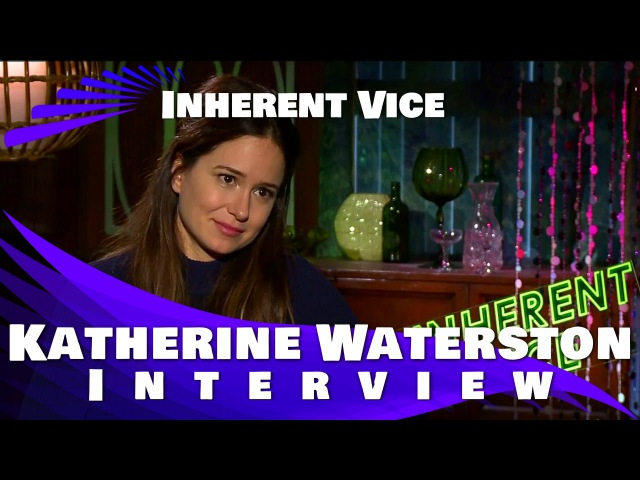 Katherine Waterston Interview Inherent Vice 2014