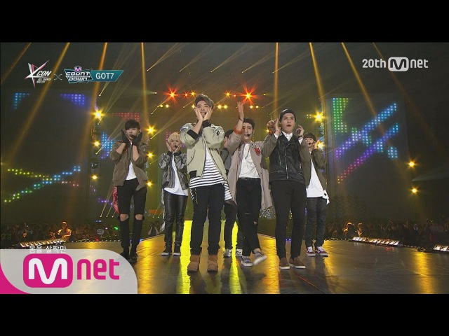GOT7(갓세븐) - Girls Girls Girls 150423 M COUNTDOWN Ep.421