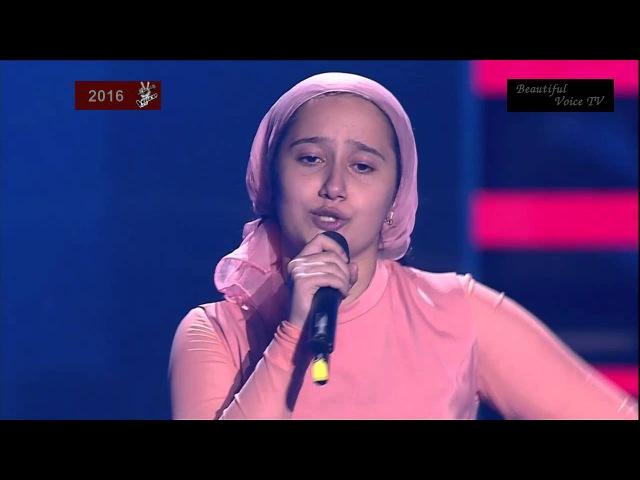 Indila 'Derniere danse' Voice Kids Russia 2016