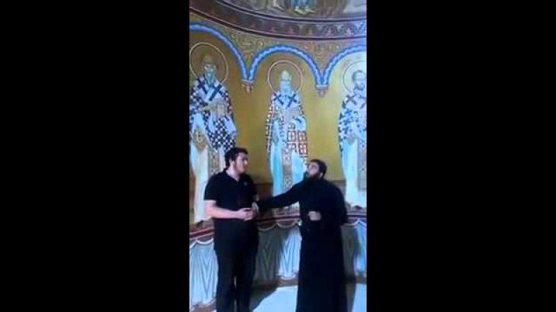 Схиархимандрит Серафим Бит-Хариби - Пресвятая Дева Мария на грузинском