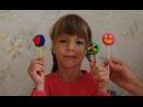 Делаем конфеты из пластилина Плей До. Лепим леденцы из теста. Поделки для детей 4-...